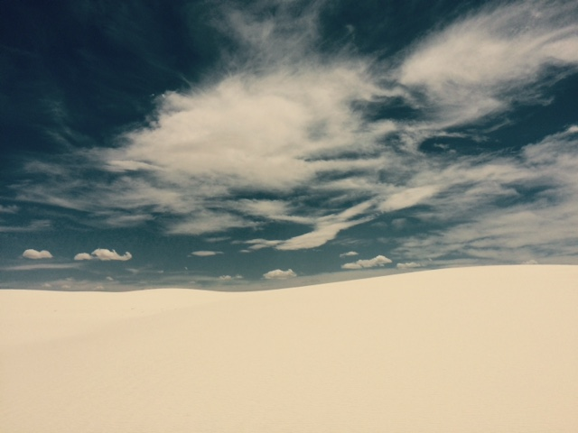 WS dune and sky
