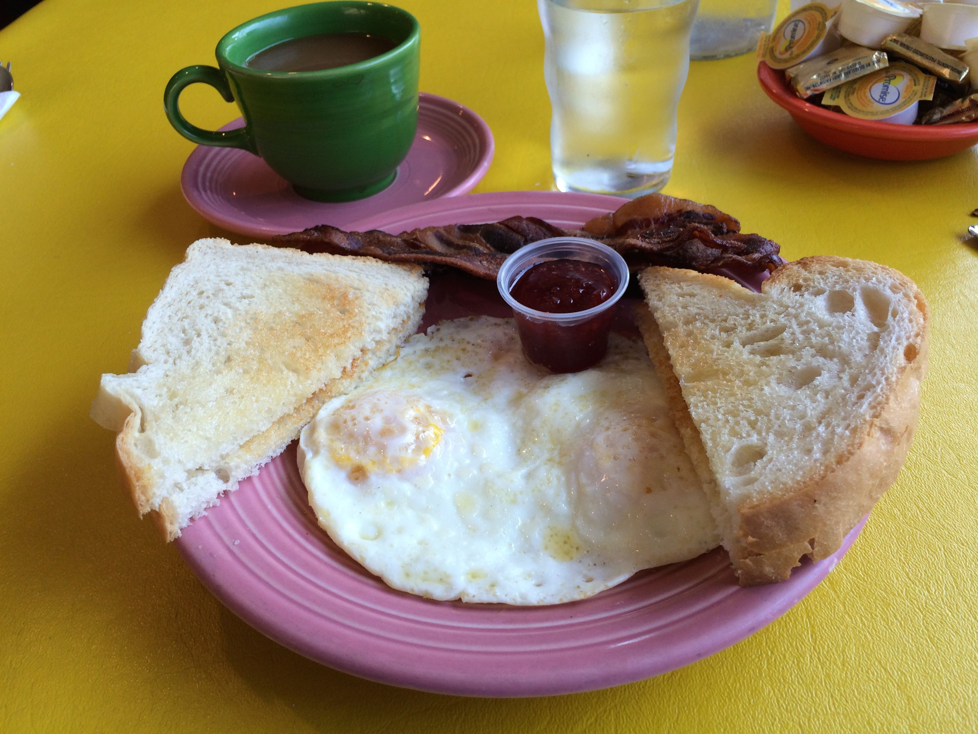 Bacon and Eggs in Egg Harbor