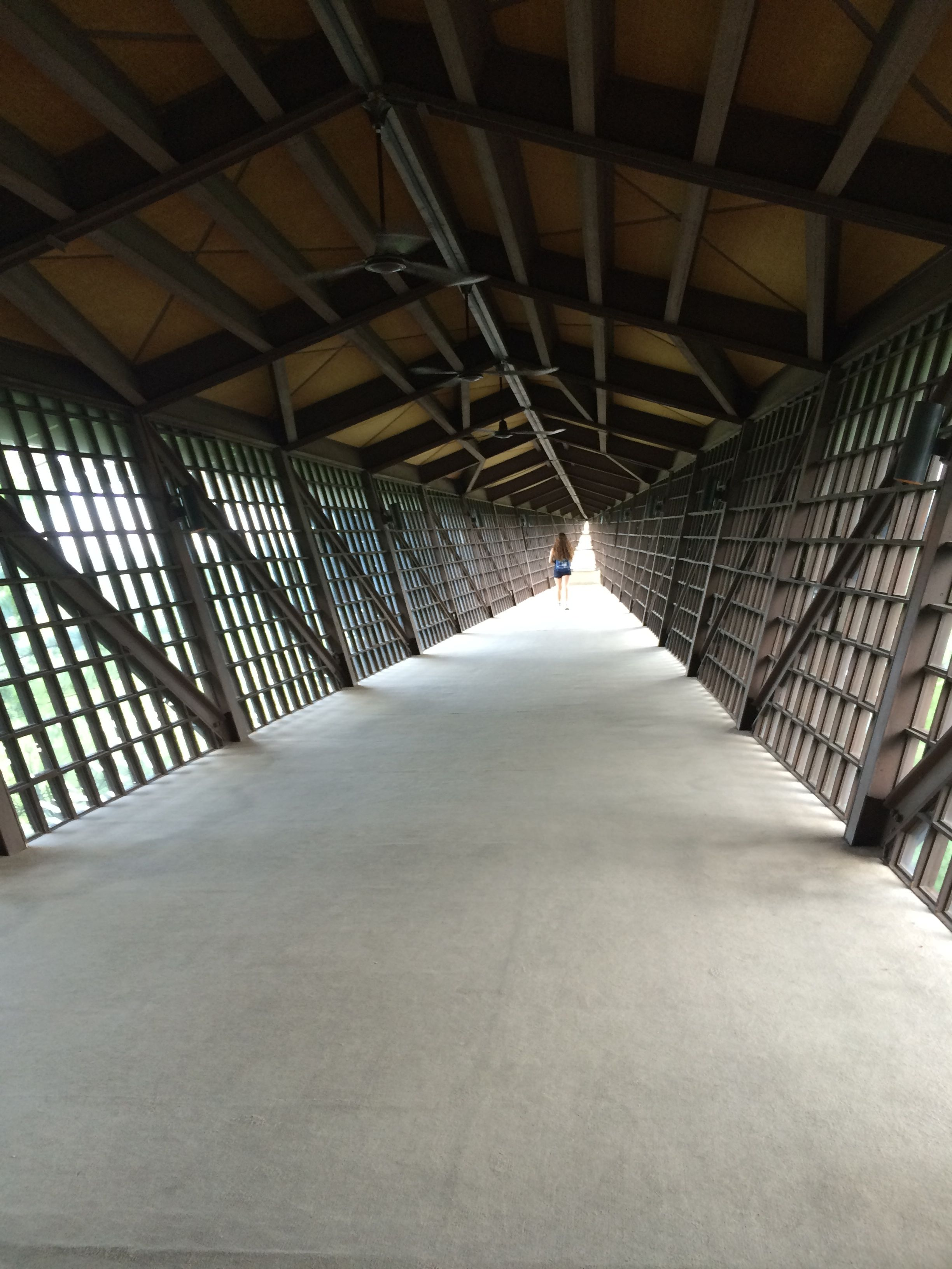 The view into the Infinity Room.