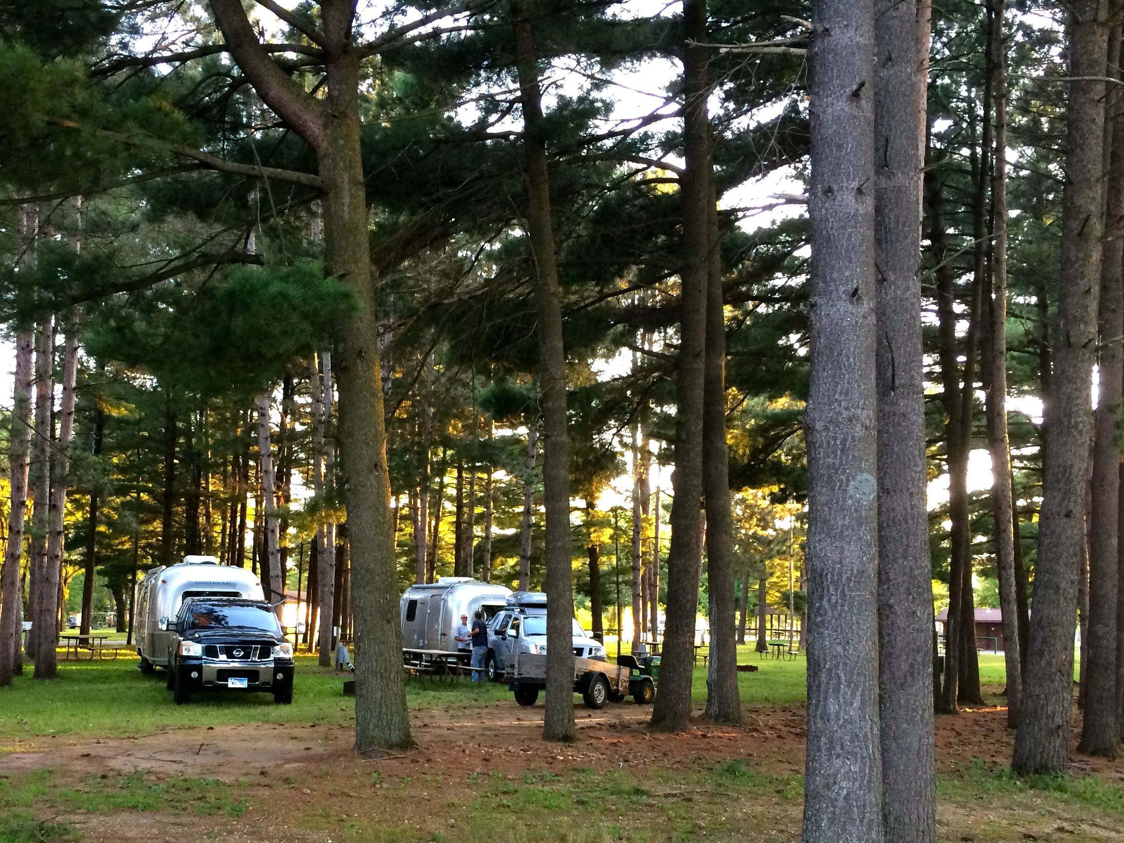 A small Airstream rally