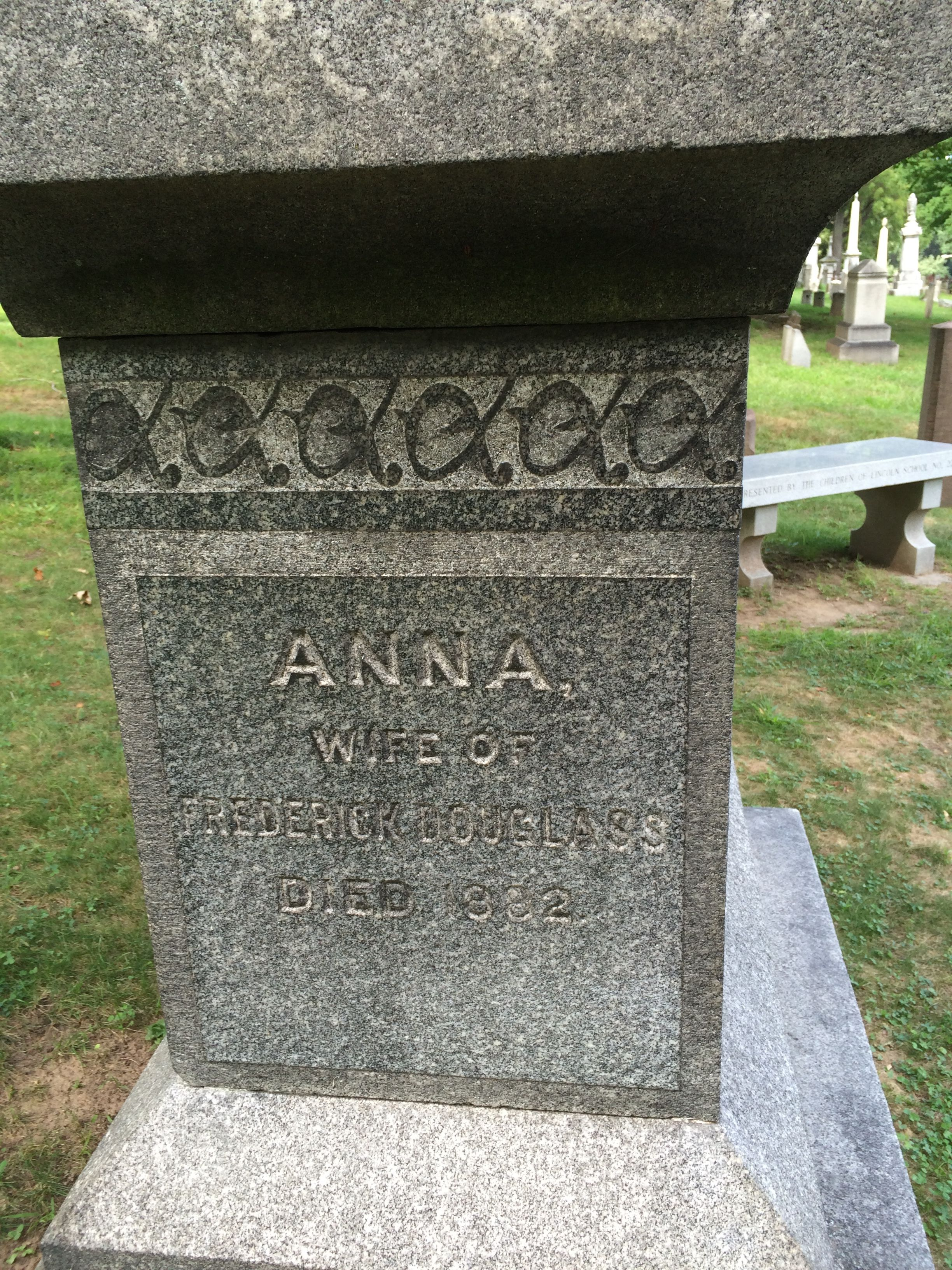 The first wife's marker