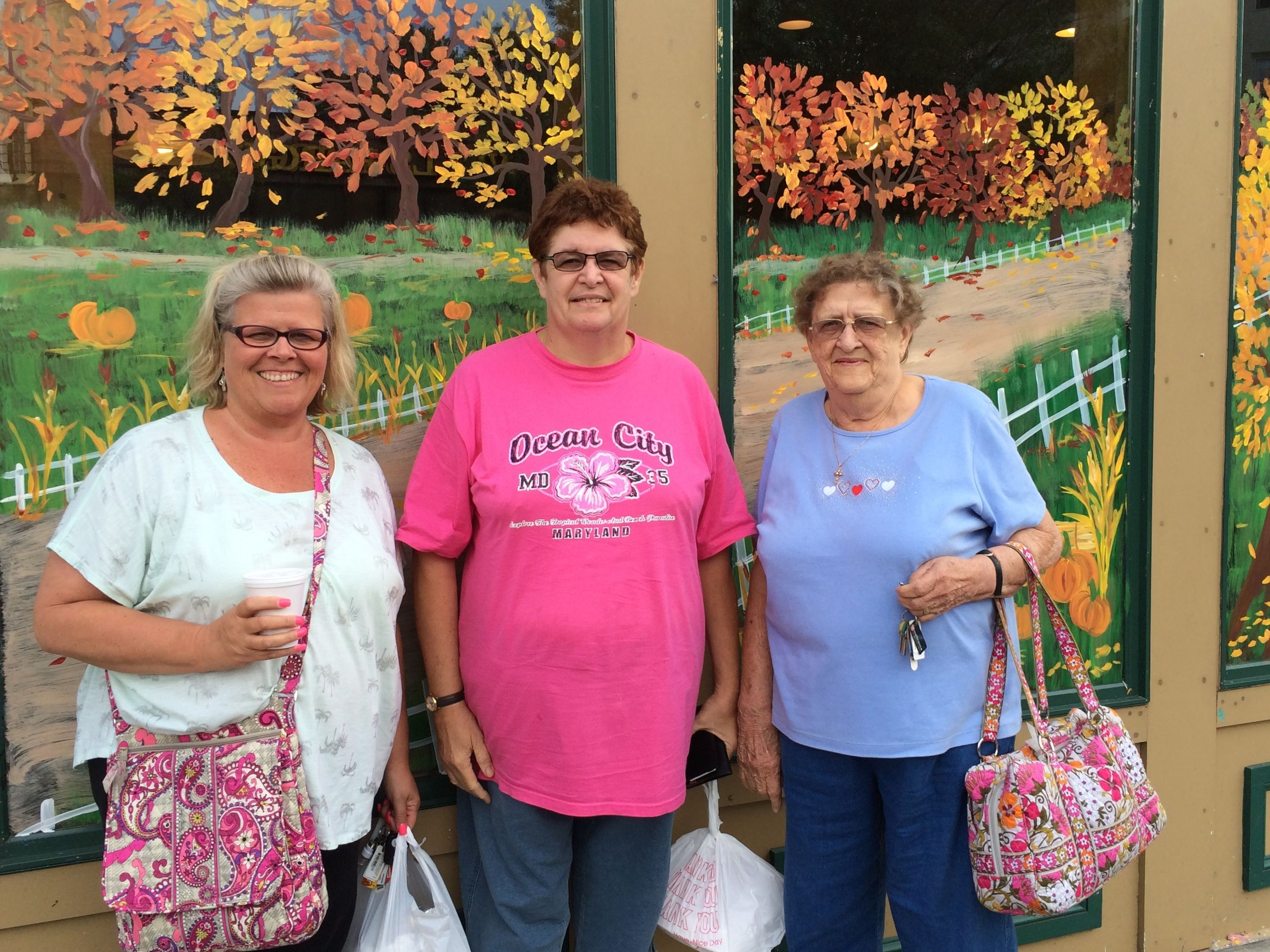 Jeanine, Barb and Sissy