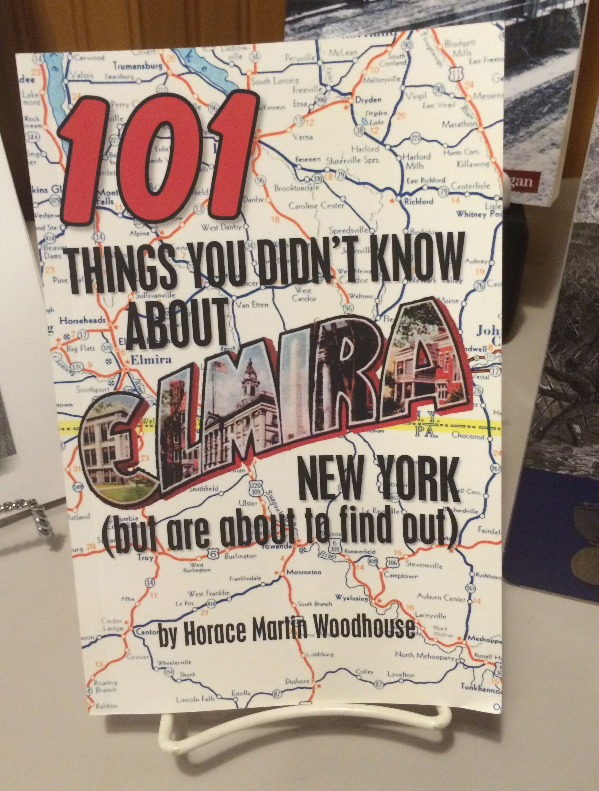Book 101 thing you didn't know about Elmira