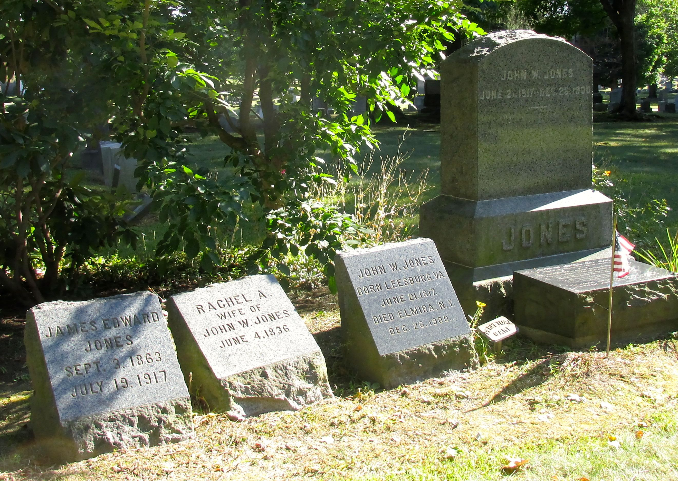 John Jones' family plot