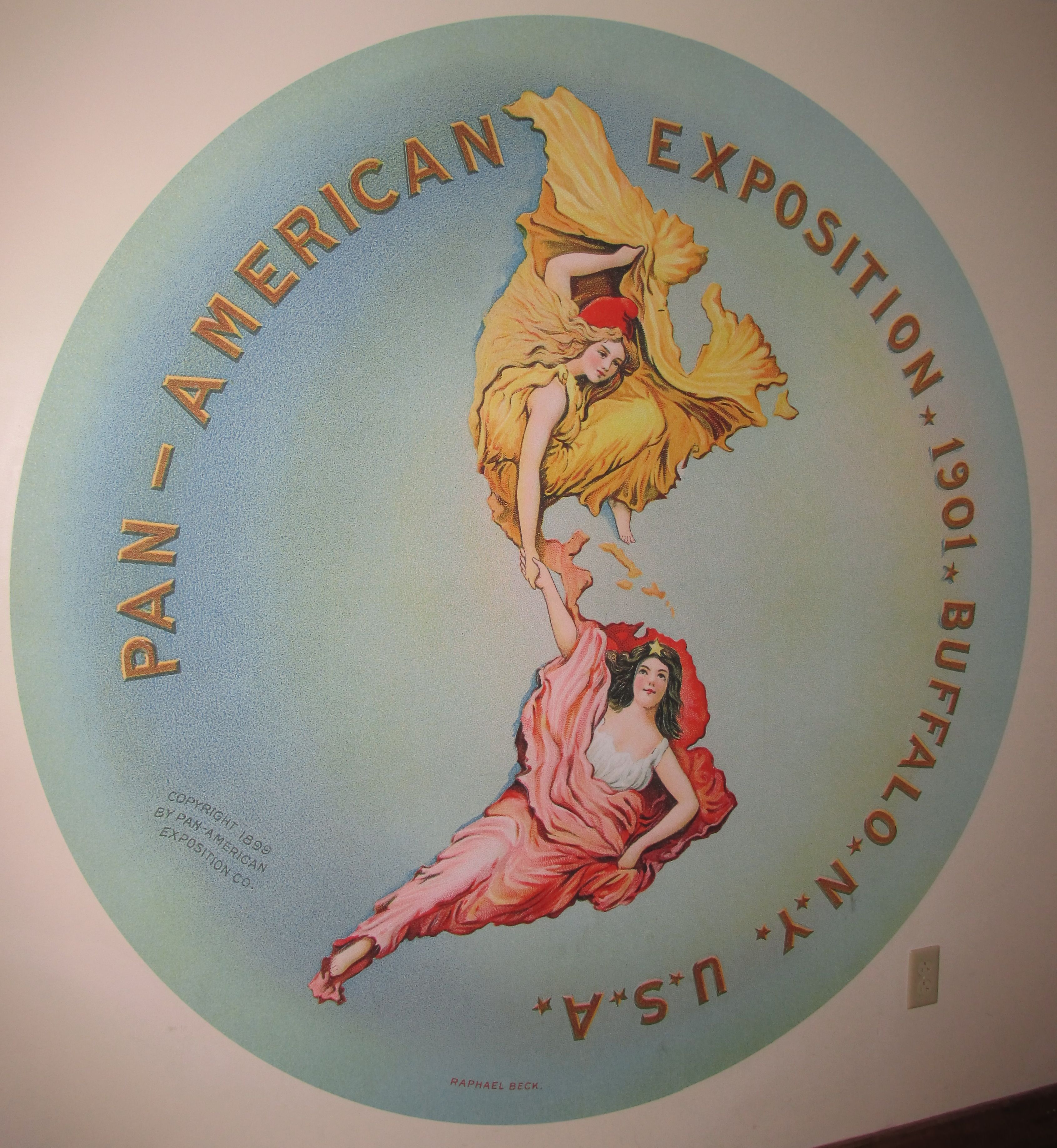 The Pan[American Exposition Logo