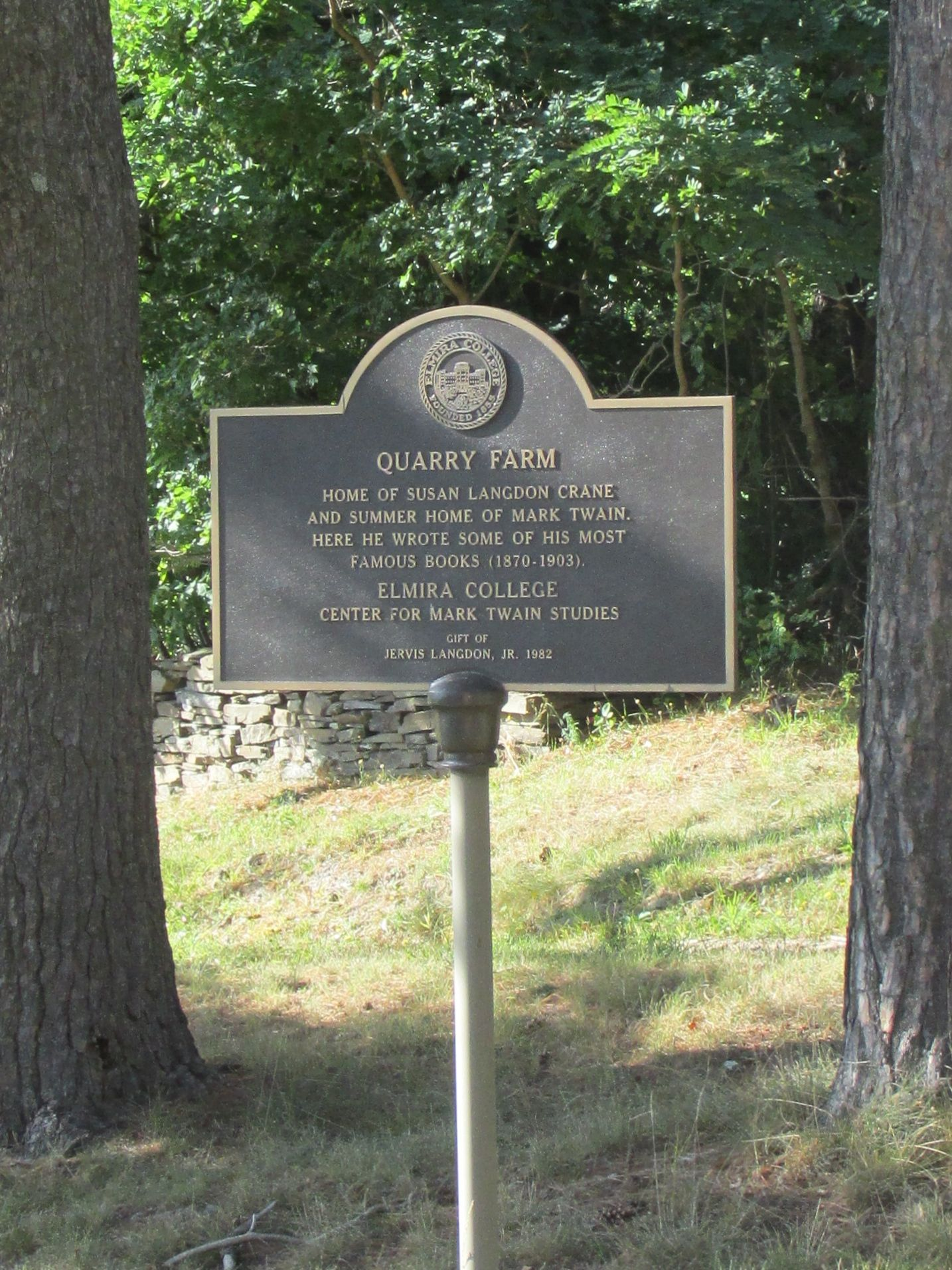 Quarry Farm Plaque