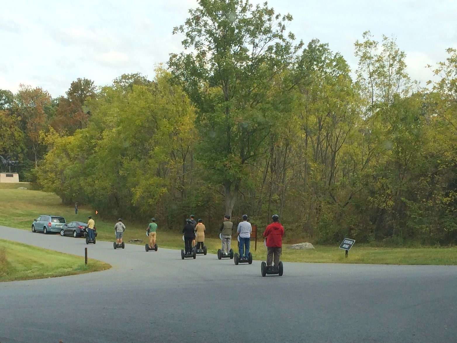 Segway tours - add to the to-do list