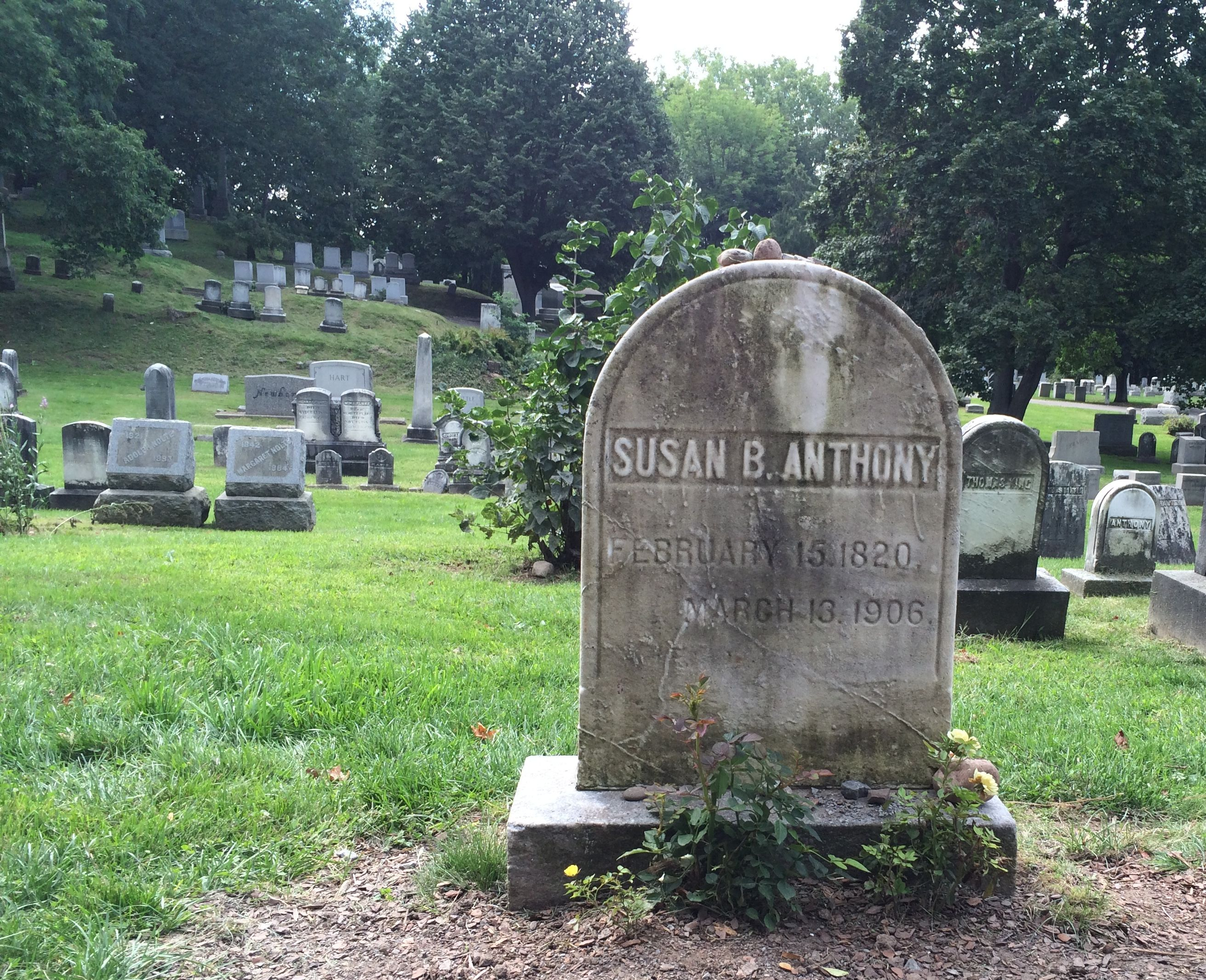 Susan' B. Anthony's Grave