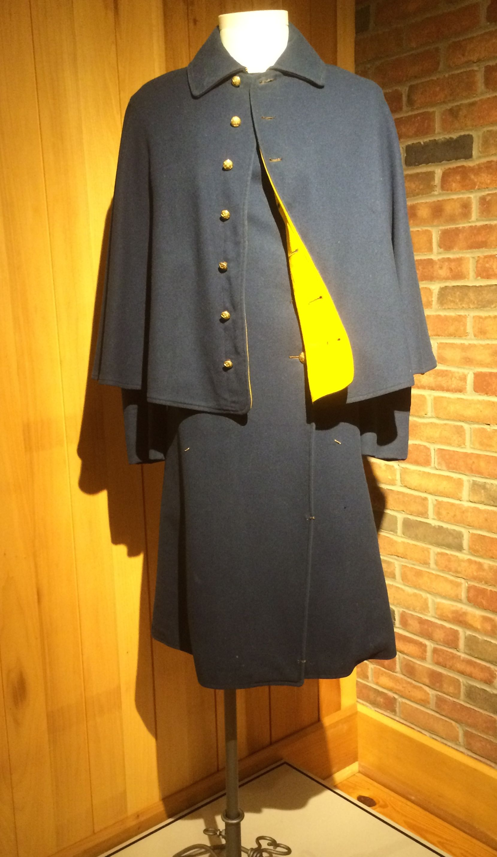 Union overcoat from the Civil War