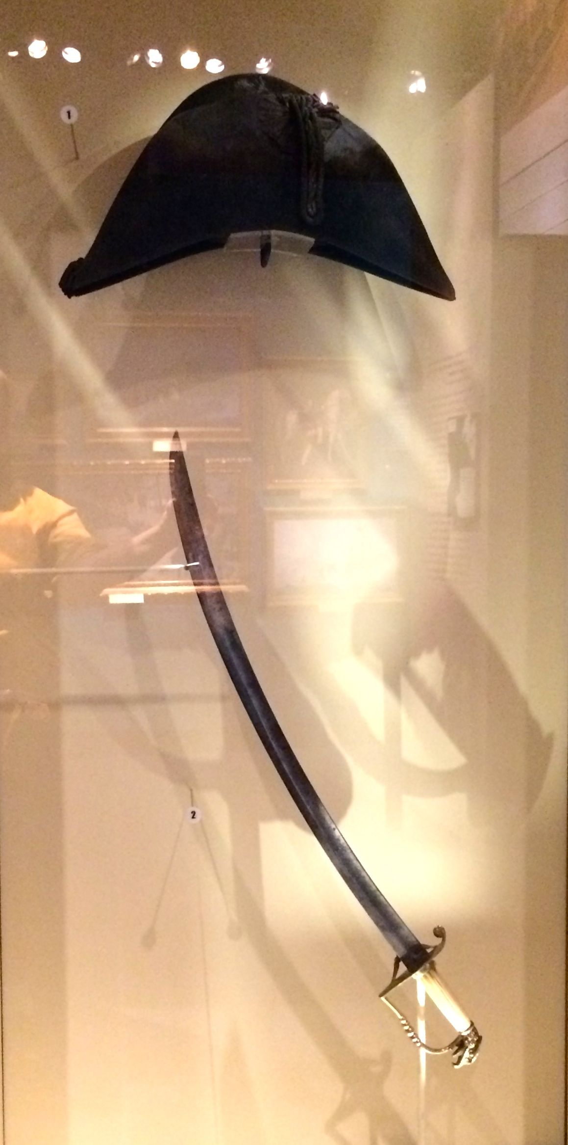 19th century hat and sword