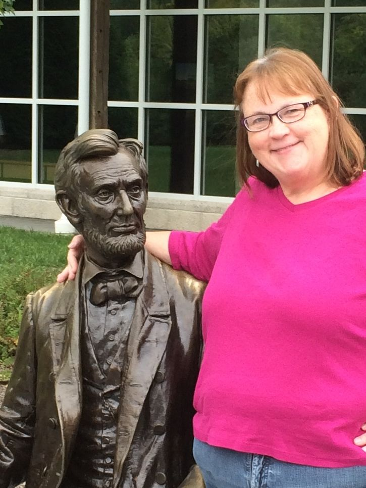 Abe and me