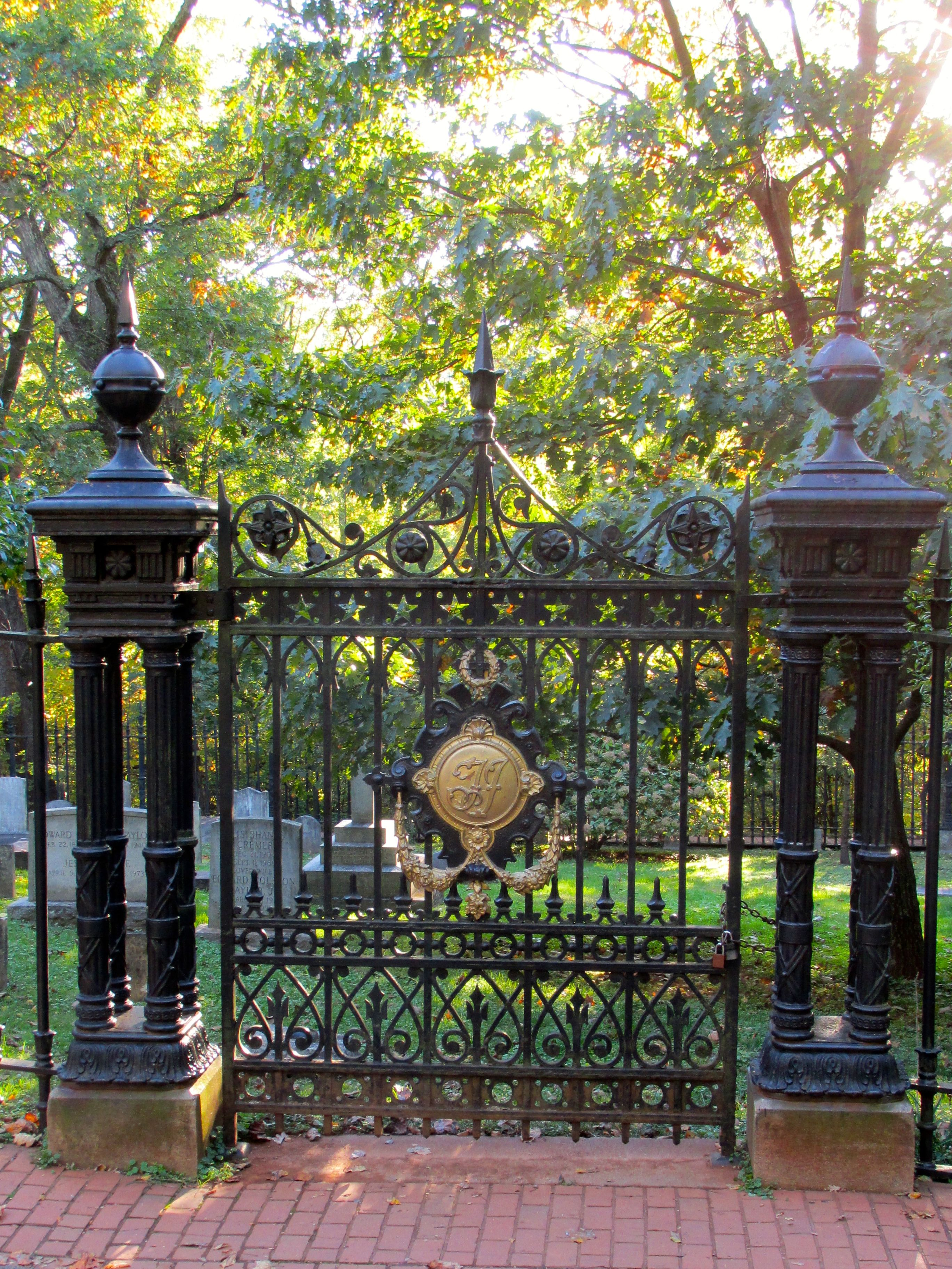 Gates to the graveyard