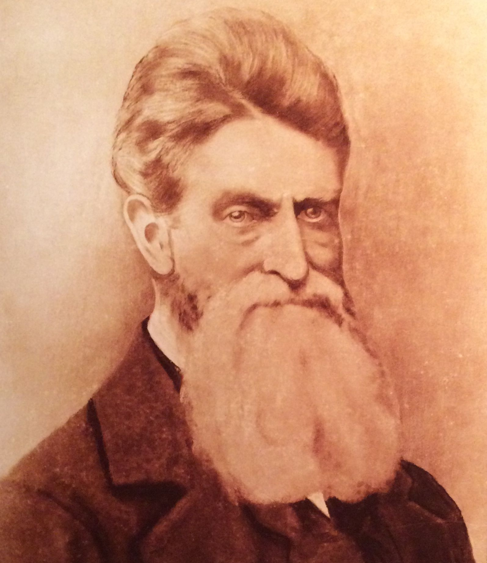 John Brown portrait from Marine Corp museum