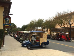 Golf Car Row