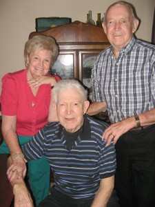 Dad, Barb and Norm 2012