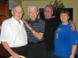 Norm, Dad, Scott and Me 2012