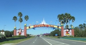 Gate to Disneyworld