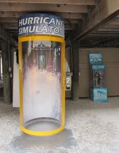Hurricane Simulator and penny squasher