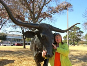 Bridge - me and the longhorn