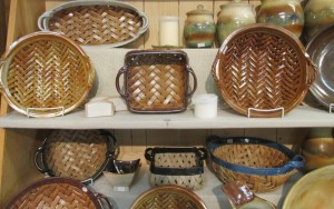 Homestead - clay baskets