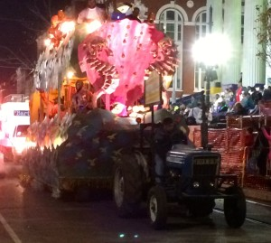 Krewe of Oshun float
