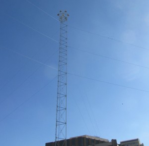 Moonlight tower top