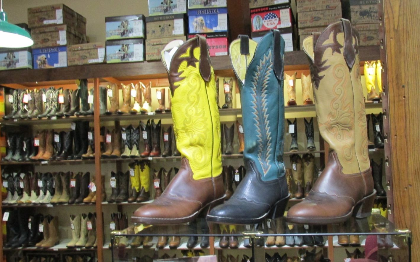 Tombstone boots