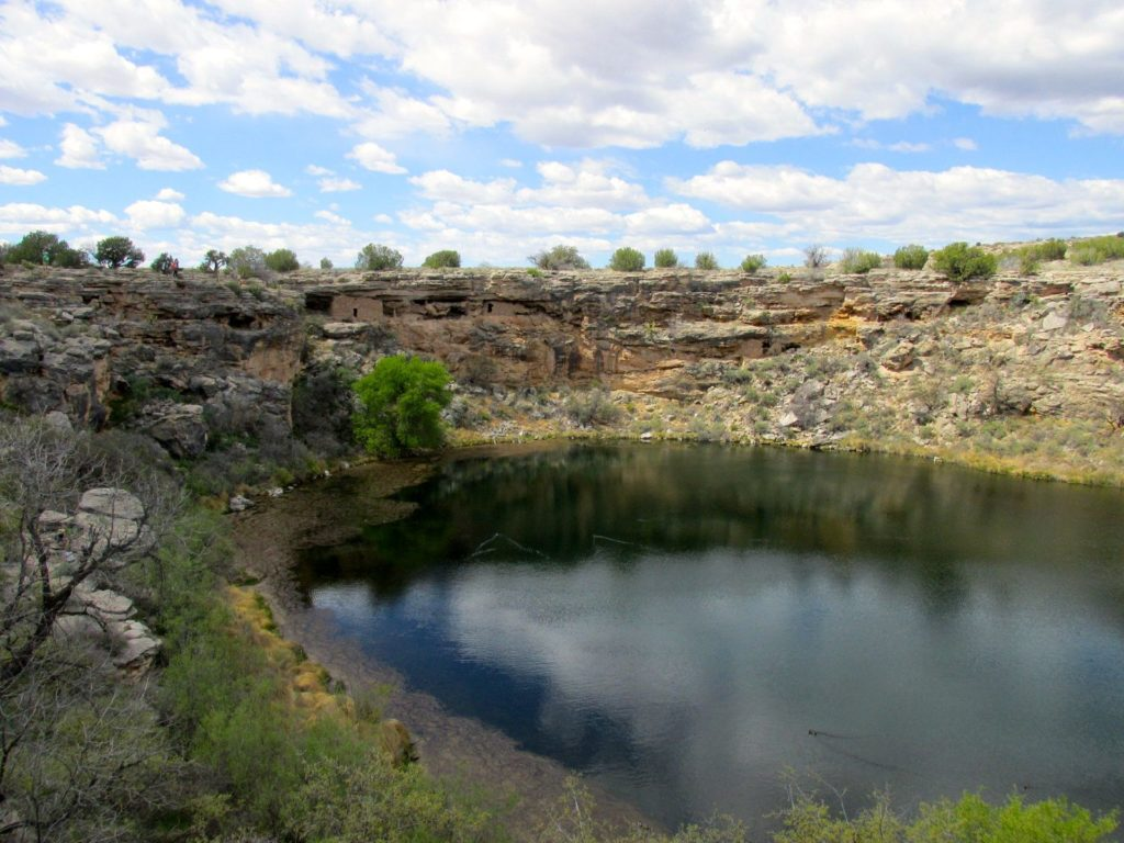 Montezuma well from the other side