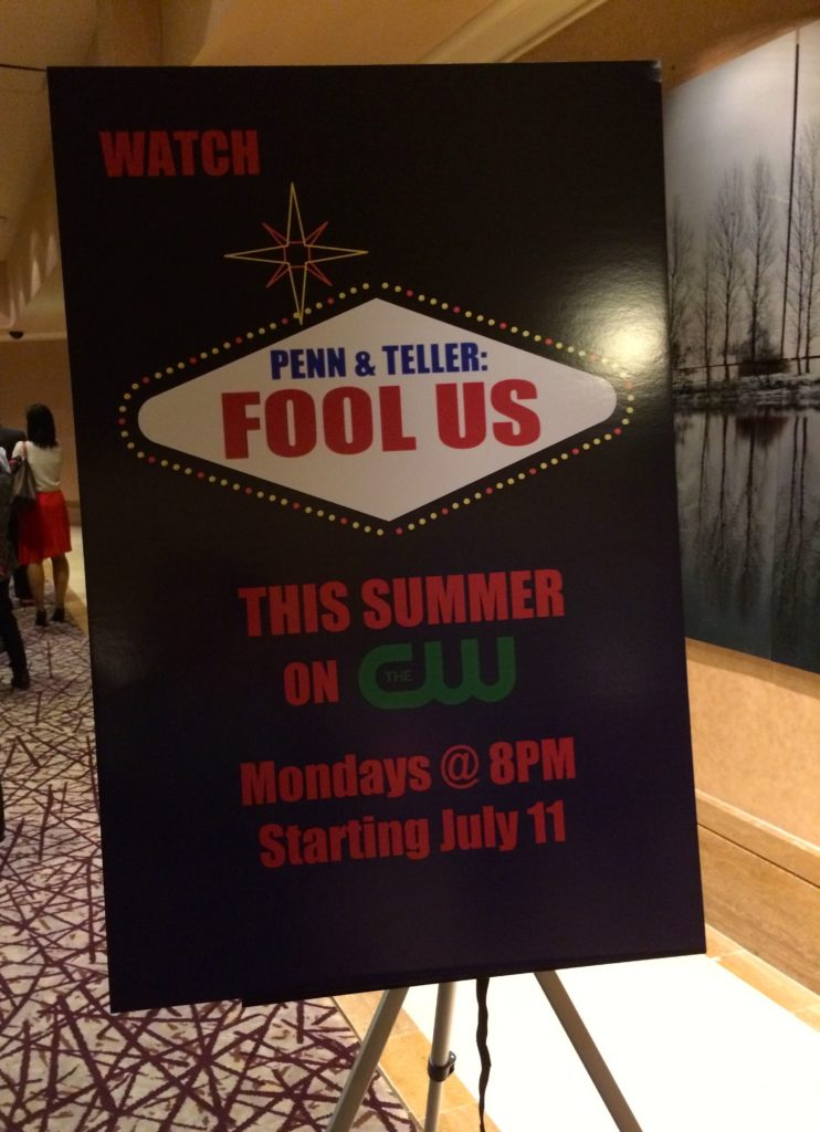 Penn and Teller Fool Us sign