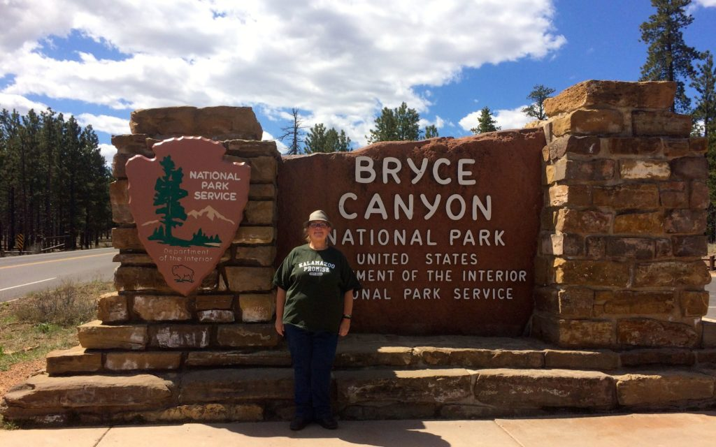 Me by Bryce Canyon Sign