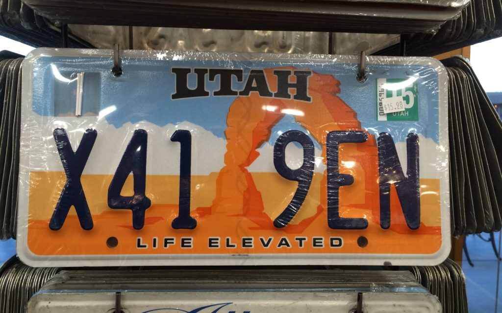 Real License plates for sale