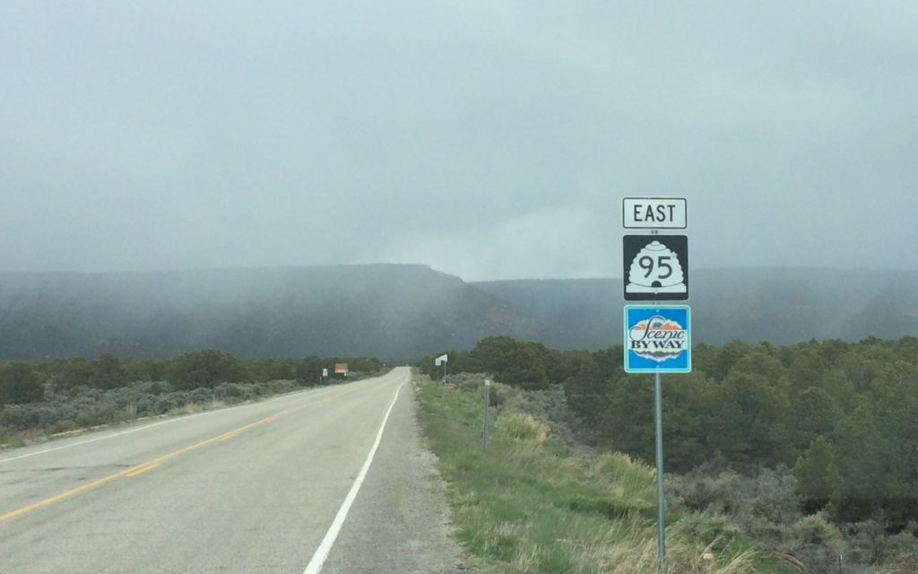 Scenic Byway sign