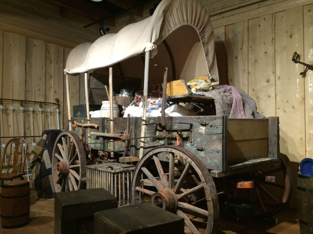 wagon in museum
