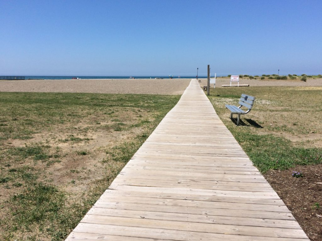 Boardwalk to the beach