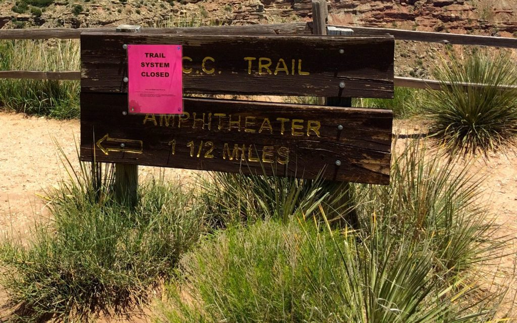 trail system closed