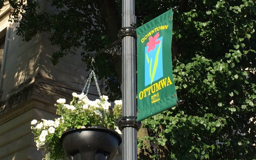 Downtown Ottumwa banner