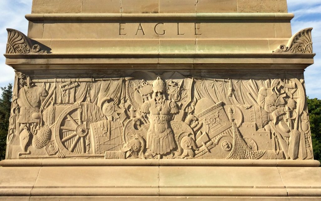 MacDonough monument frieze