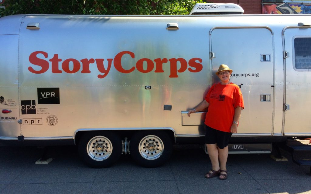 Me with the Story Corps Airstream