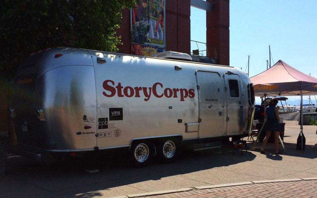 Storycorps Airstream