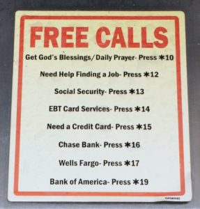 no-phone-free-calls-sign