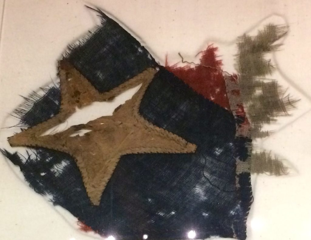 a-section-of-the-24th-georgia-flag-close-up